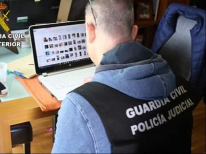 Un detenido en la provincia de Lugo en operativo contra pornografía infantil.