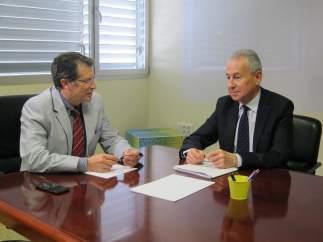 Imagen Del Encuentro Entre Francisco Jódar Y Miguel Ángel Ródenas