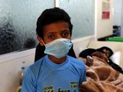 Brote de cólera en Yemen