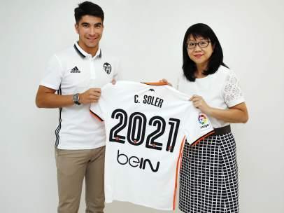 Carlos Soler y Layhoon Chan