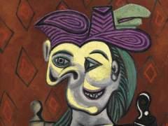 'Mujer sentada, vestido azul', de Picasso, vendido por casi 41 millones