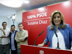 Susana Díaz en Madrid