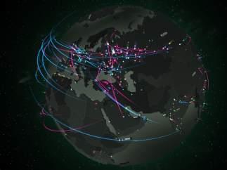 Kaspersky, mapa virus