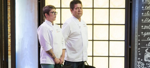 Rakel y Víctor e 'Top Chef'