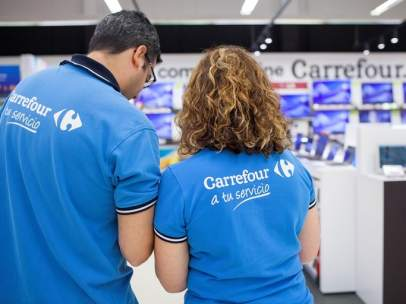 Empleados de Carrefour