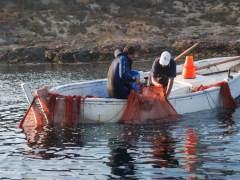Pesca artesanal en la Reserva Marina de Cabo de Palos-Islas Hormigas