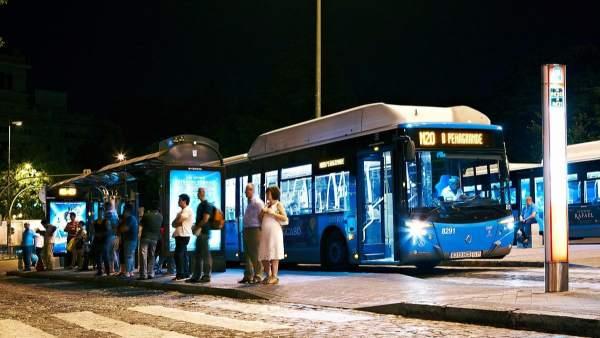 Autobús nocturno de Madrid