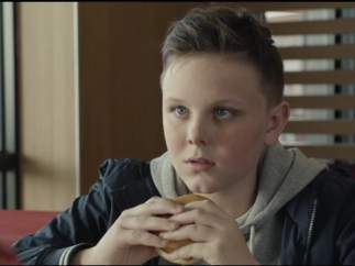 Una parte del anuncio eliminado por McDonald's.