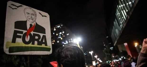 Protestas contra Temer