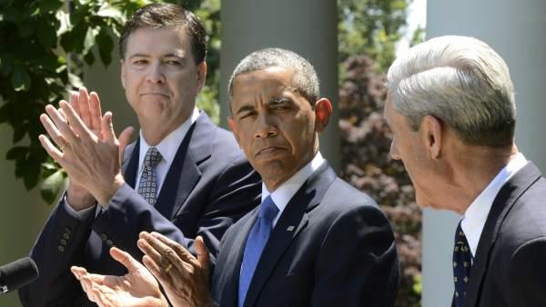 Image result for james comey obama mueller