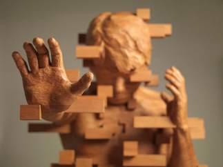 Esculturas pixeladas