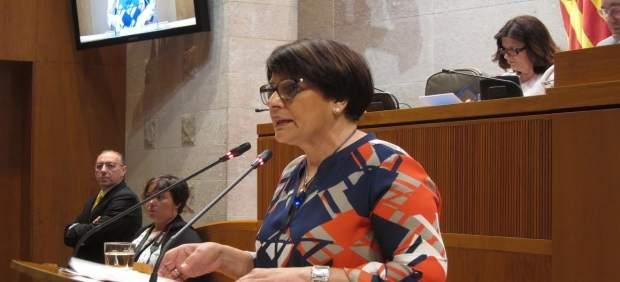 Margarita Périz, diputada del PSOE