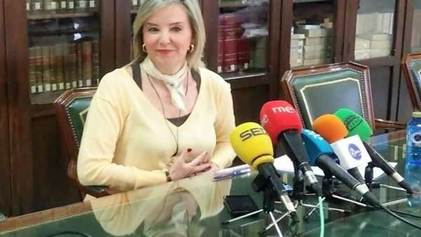 La fiscal superior de Andalucía, Ana Tárrago