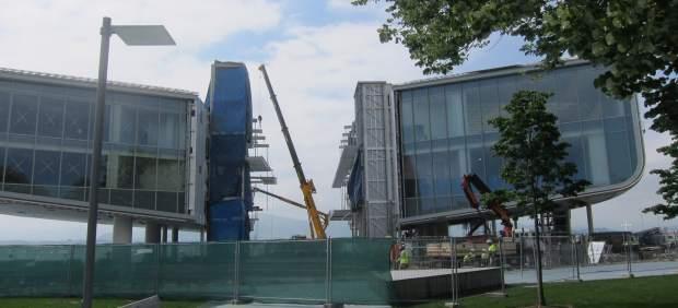 Estado actual de las obras del Centro Botín
