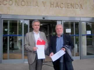 Javier Izquierdo y José Francisco Martín.