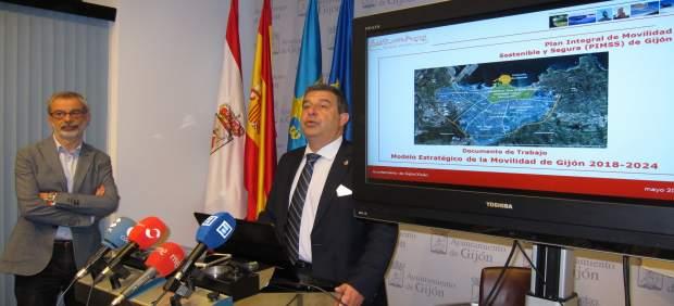 Ignacio Diaz (Coordinador Plan De Movilidad), Esteban Aparicio, Concejal Segurid