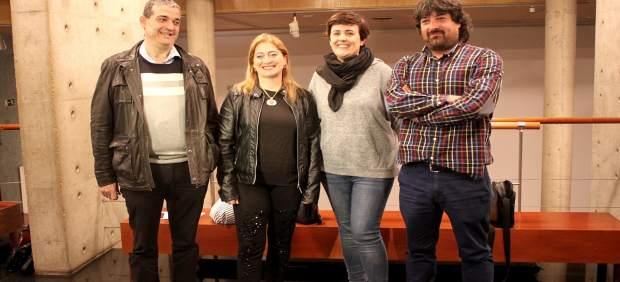 De I a D, Santamaría, Jiménez, Alegre y García