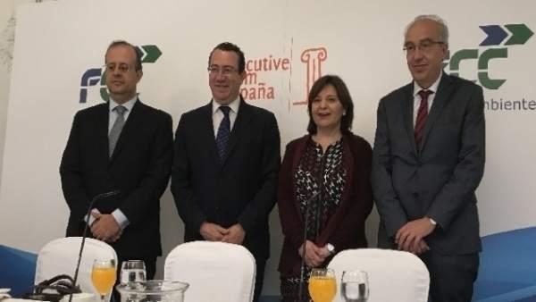 Bonig en el acto en Madrid