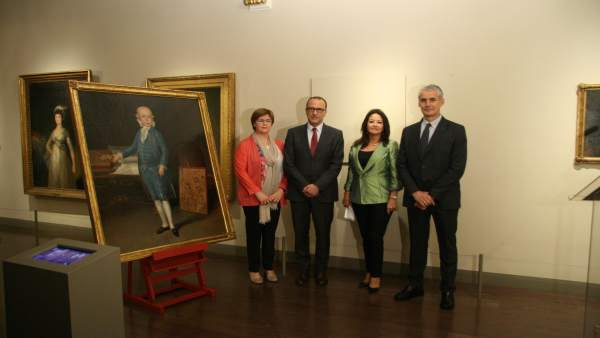 El retrato de Don Luis María de Borbón y Vallabriga, en el Museo Goya.