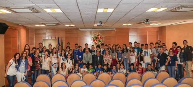 Participantes en la final regional de la Olimpiada Matemática