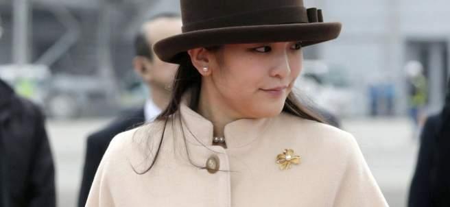 La princesa Mako, nieta mayor del emperador Akihito