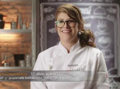 Rakel Cernicharo, ganadora de la 4ª edición de 'Top Chef'
