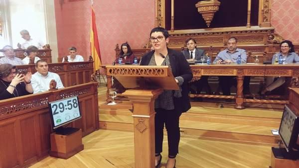 Mercé Bujosa En El Debate De Política General Del Consell