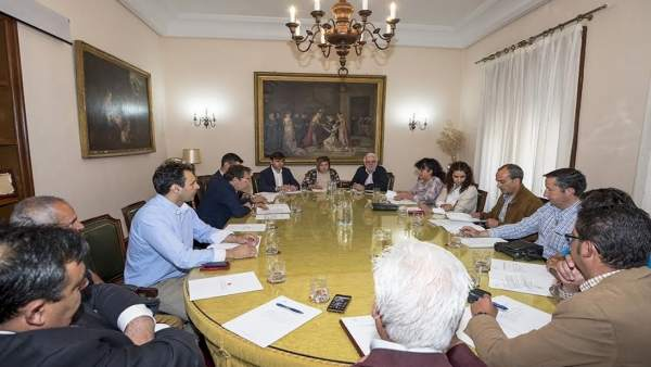 Reunión del Consejo de Mancomunidades en Cáceres