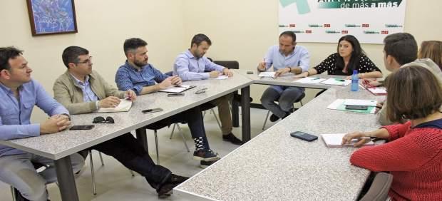 Reunión del grupo parlamentario del PSOE de Jaén.