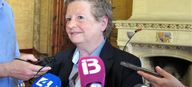 La portavoz de Cs en el Consell, Catalina Serra