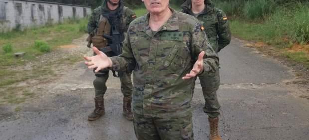 El coronel Raimundo Rodríguez Roca en Cabo Noval