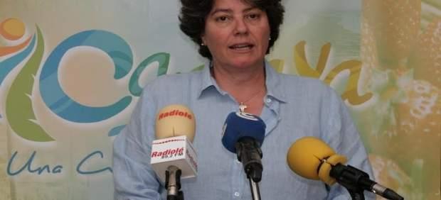 La concejala de Economía del Ayuntamiento cartayero, María del Carmen García.