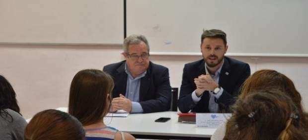 Escribano y Martín Arcos, en una jornada sobre seguridad en Internet
