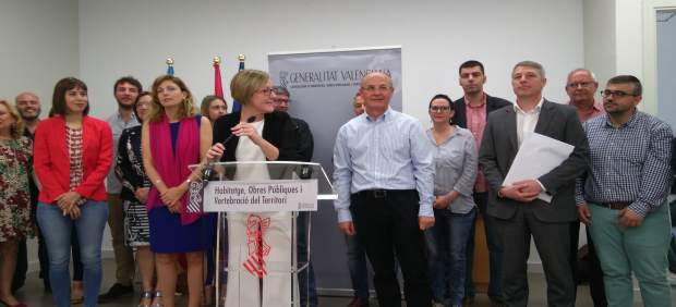 Generalitat i alcaldes presentaran Foment un pla amb els accessos necessaris després de la liberalització de l'AP-7