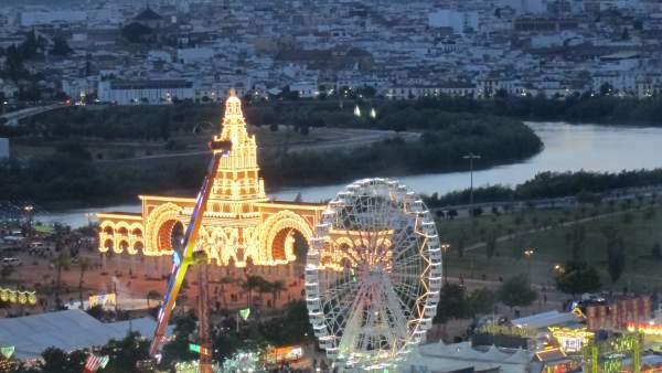 Imagen general de la Feria de Nuestra Señora de la Salud