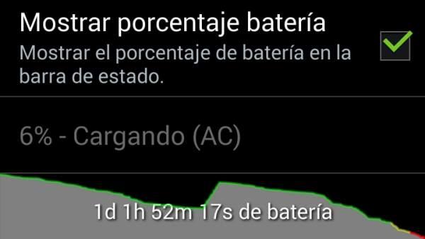 Consumo de batería
