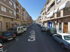 Calle Zafra, en Caudete (Albacete).
