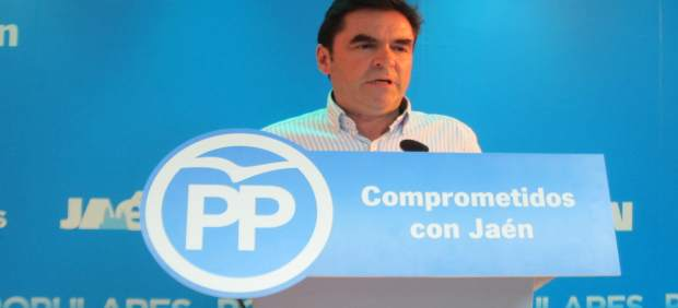 Miguel Moreno durante la rueda de prensa
