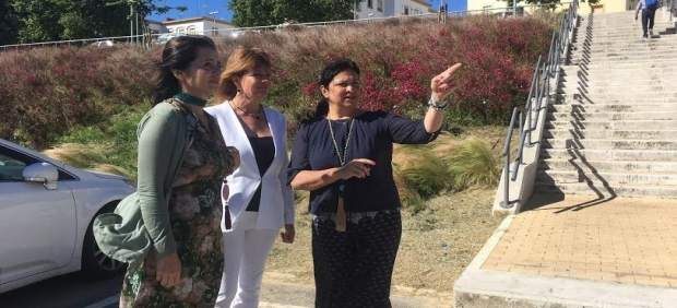 La portavoz del grupo popular en el Ayuntamiento de Huelva, Pilar Miranda.