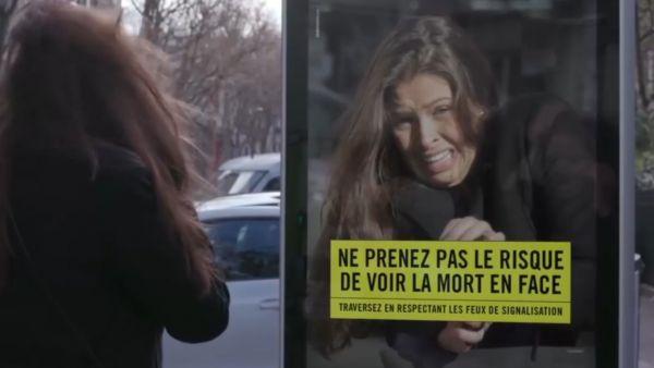La dura campaña para evitar atropellos en París