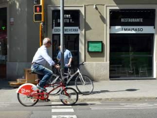La bicicleta per Barcelona.