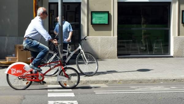 Movilidad en bicicleta por Barcelona