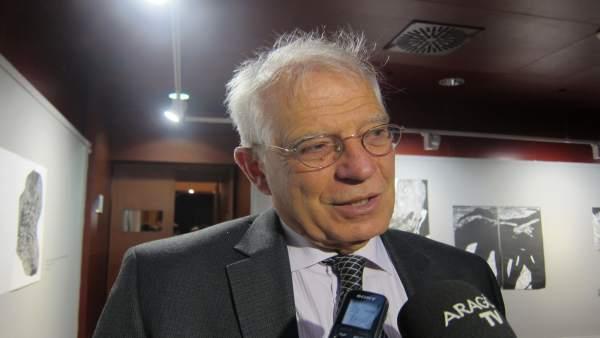 El exministro de Fomento del PSOE. Josep Borrell