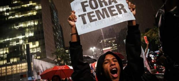 Manifestaciones contra Temer