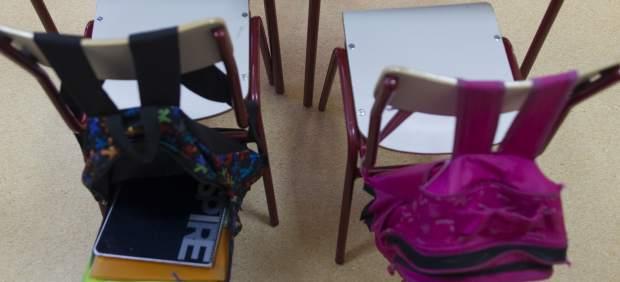 Colegio, escuela, aula, primaria, clase, estudiar, deberes, mochila, mochilas.