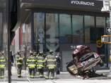 Atropello en Times Square