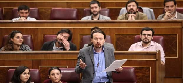 Pablo Iglesias en el Congreso, en una imagen de archivo