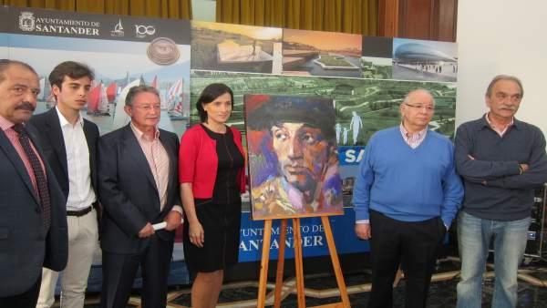 Presentación del cartel de la Feria de Santiago 2017