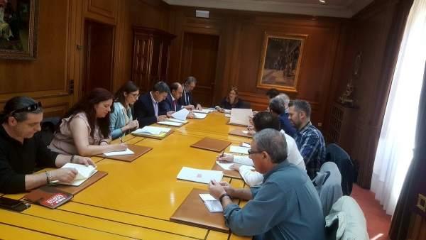 Zamora: reunión de la Mesa del Diálogo Social