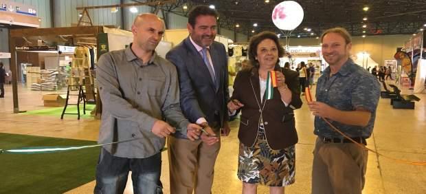 Inauguración de Expocáñamo 2017 en Fibes (Sevilla)